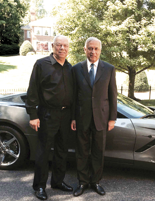 Shaukat Aziz with Colin Powell
